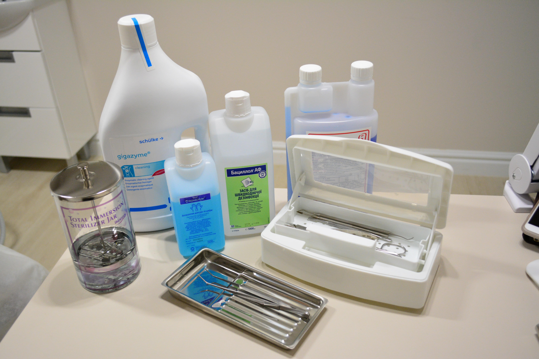 Дезинфекция и стерилизация маникюр педикюр инструментов